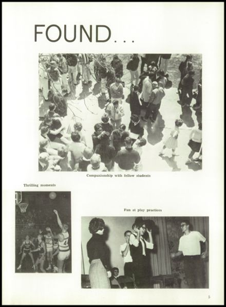 1964 York High School Yearbook Page 9
