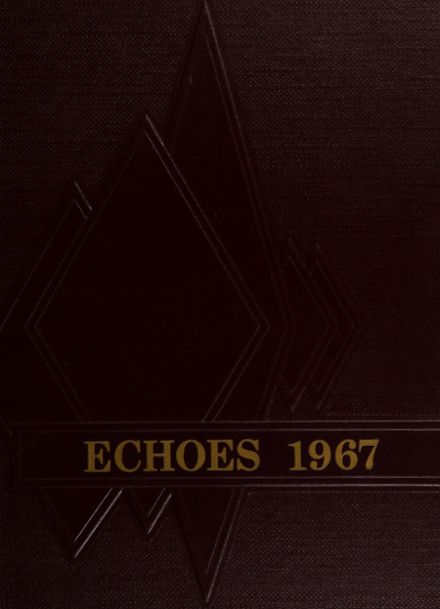 1967 Fillmore High School Yearbook Cover
