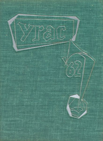 1962 Cary High School Yearbook Cover