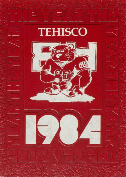 1984 Tenino High School Yearbook Cover