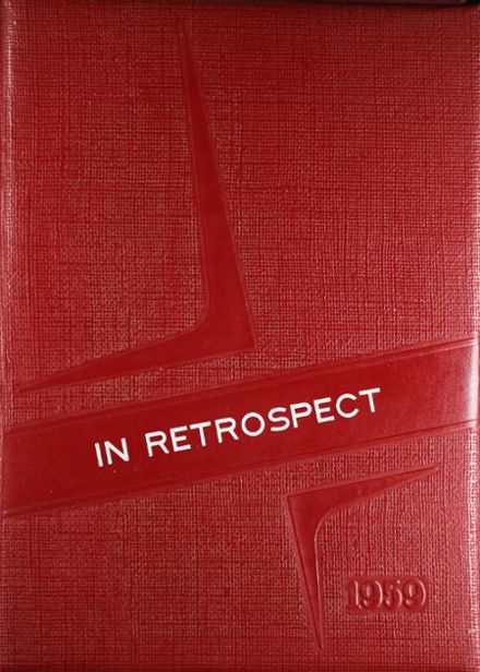 1959 Groton High School Yearbook Cover