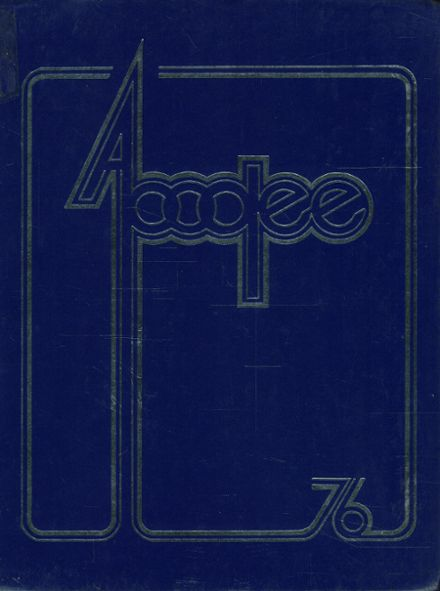 1976 Loch Raven High School Yearbook Cover