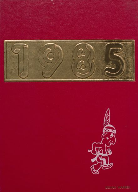 1985 Bayard High School Yearbook Cover