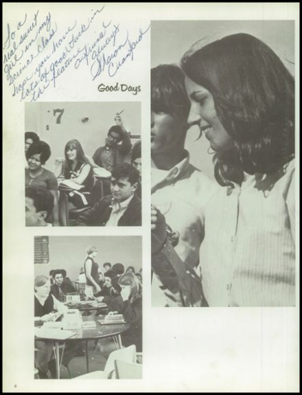 1970 Silver Creek High School Yearbook Page 8