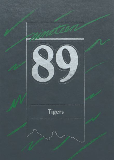 1989 Worth County R-III High School Yearbook Cover