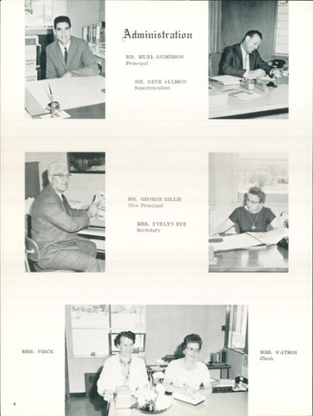 1964 Silverton Union High School Yearbook Page 6