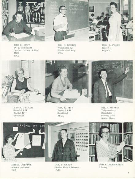 1964 Silverton Union High School Yearbook Page 9