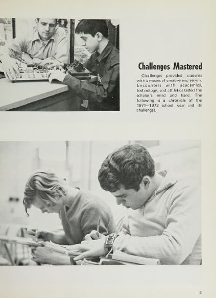 1972 Lane Technical High School Yearbook Page 7