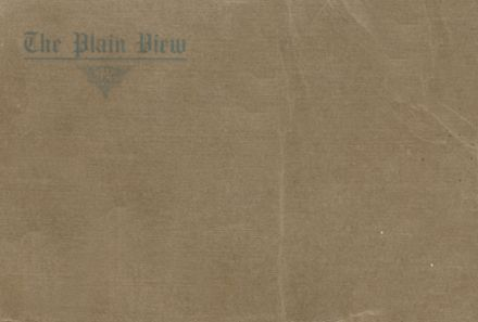 1914 Plainview High School Yearbook Cover