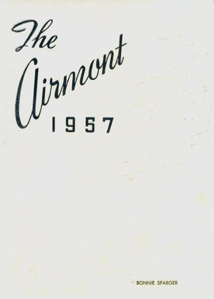 1957 Mt. Airy High School Yearbook Cover