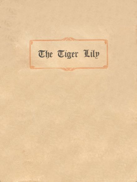 1913 Port Allegany High School Yearbook Cover