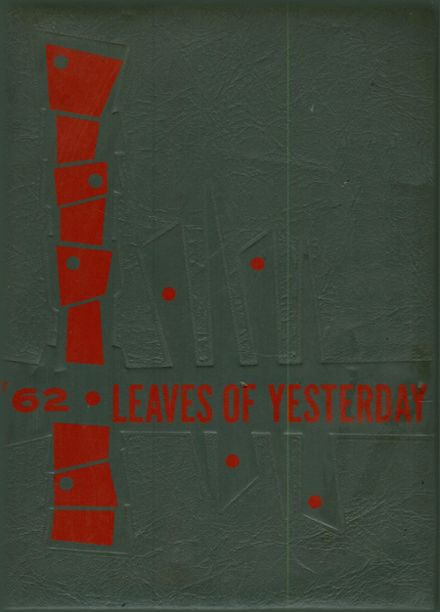 1962 East Nicolaus High School Yearbook Cover