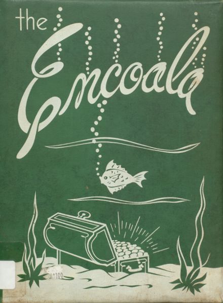 1952 Enterprise High School Yearbook Cover