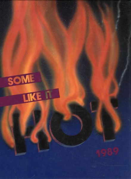 1989 Silver Creek High School Yearbook Cover
