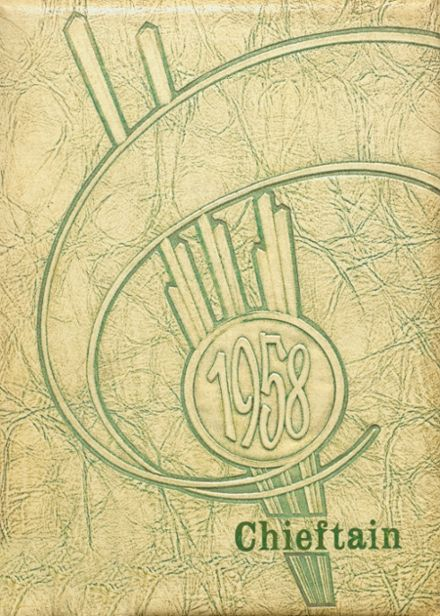 1958 Cohocton Central High School Yearbook Cover