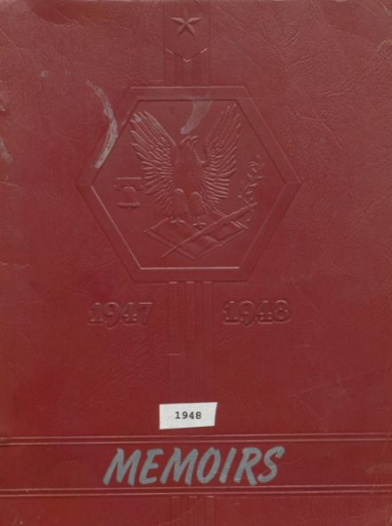 1948 Father Leo Memorial School Yearbook Cover