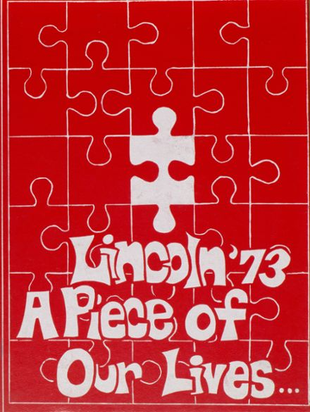 1973 Lincoln Community High School Yearbook Cover
