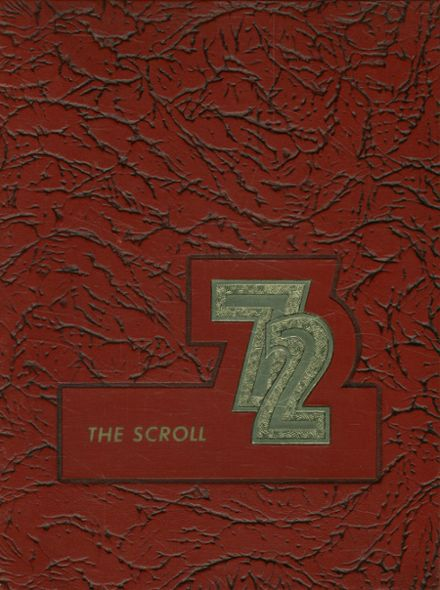 1972 Baptist Christian Academy Yearbook Cover
