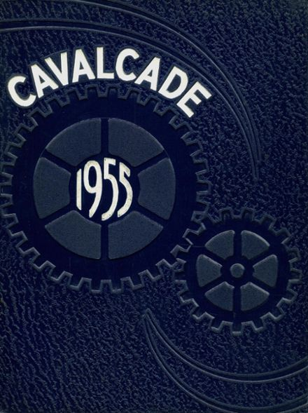 1955 Clawson High School Yearbook Cover