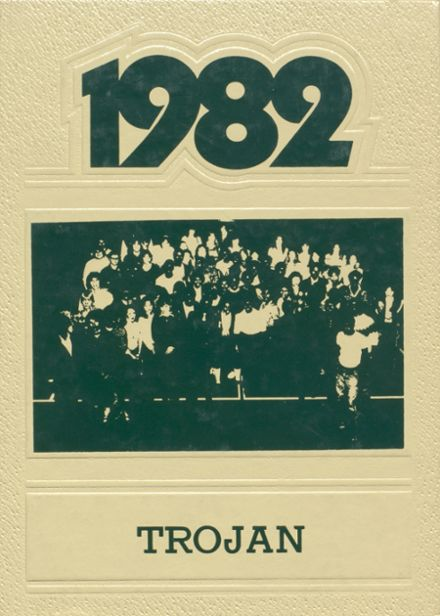 1982 Madison High School Yearbook Cover