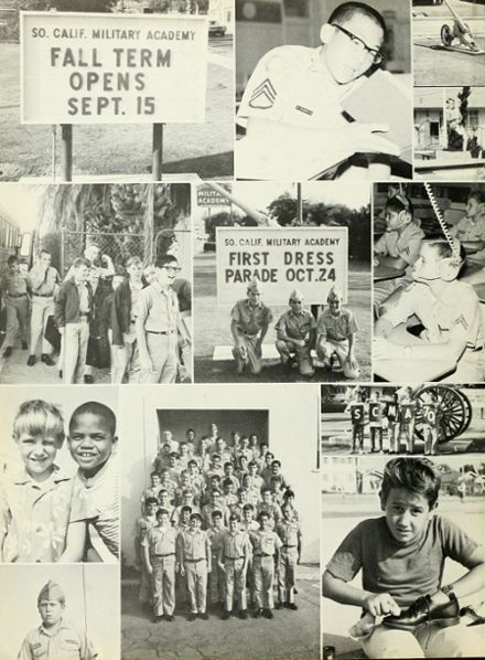 Explore 1970 Southern California Military Academy Yearbook Long