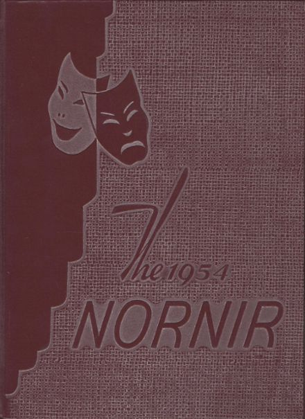 1954 Hanover High School Yearbook Cover