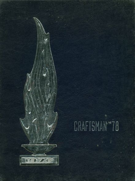 1978 Carbon County Area Vocational Technical School Yearbook Cover