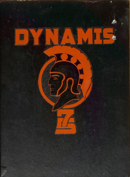 1975 Northwest Cabarrus High School Yearbook Cover