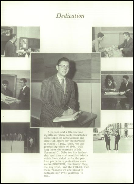 1964 Lewiston High School Yearbook Page 6