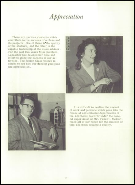 1964 Lewiston High School Yearbook Page 7