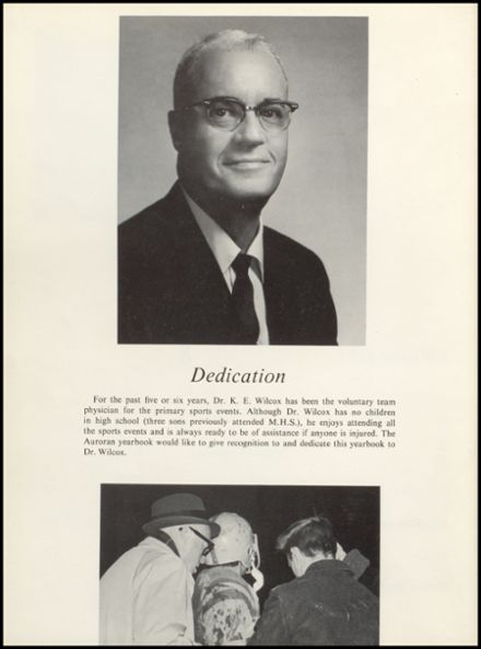 1968 Muscatine High School Yearbook Page 6