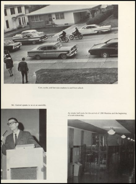 1968 Muscatine High School Yearbook Page 8
