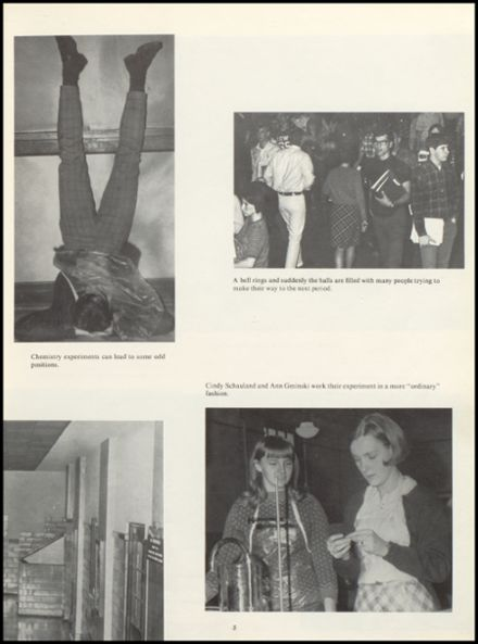 1968 Muscatine High School Yearbook Page 9