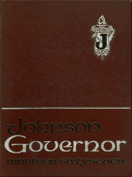 1967 Johnson High School Yearbook Cover