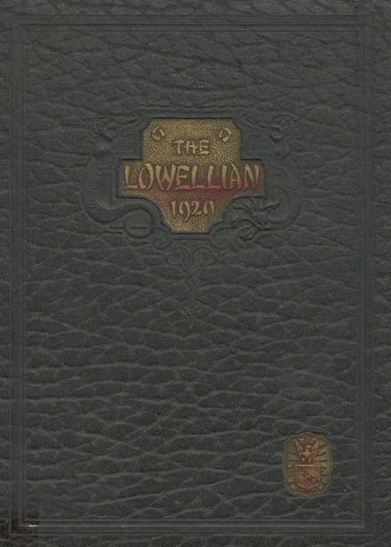 1929 Lowell High School Yearbook Cover