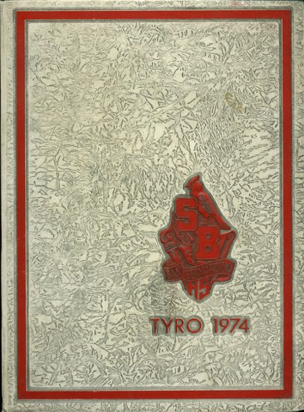 1974 San Bernardino High School Yearbook Cover