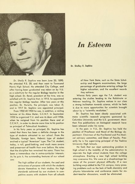 1957 Talmudical Academy Yearbook Page 8