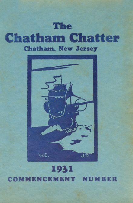 1931 Chatham High School Yearbook Cover