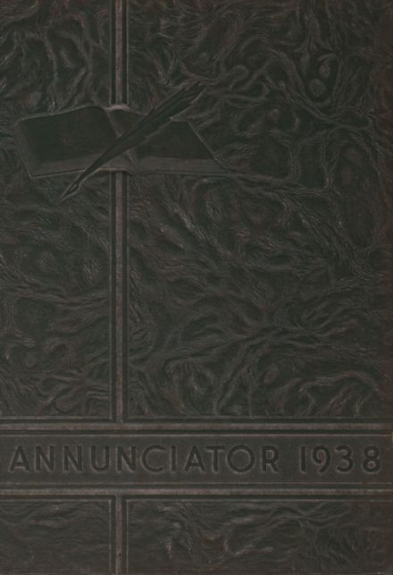 1938 Annunciation High School Yearbook Page 1