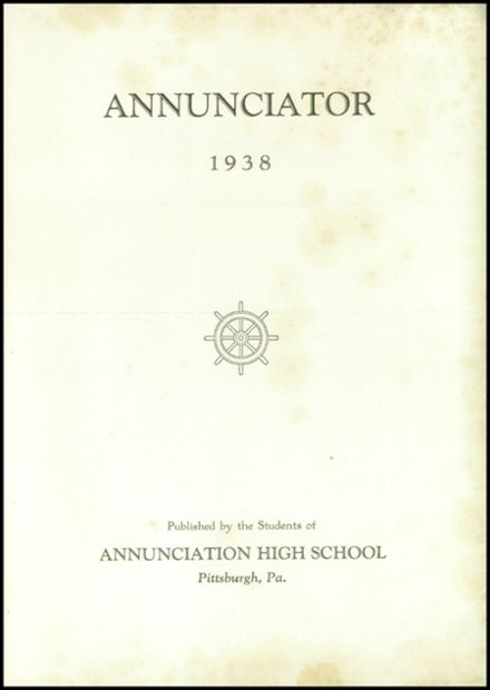 1938 Annunciation High School Yearbook Page 7