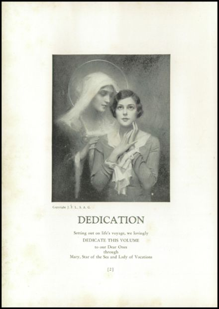 1938 Annunciation High School Yearbook Page 8