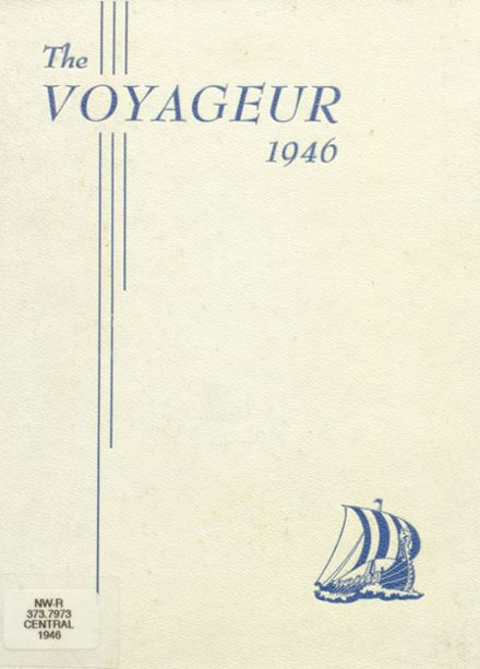 1946 Central Valley High School Yearbook Cover