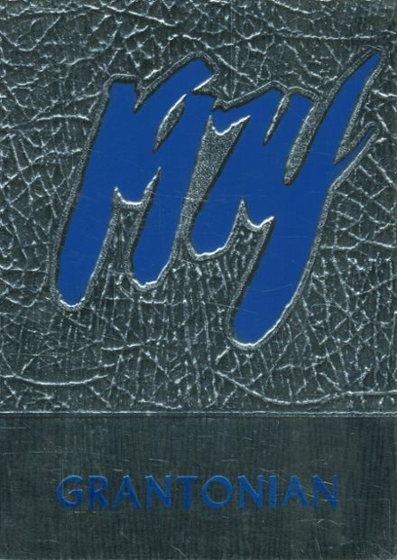 1974 Grant County High School Yearbook Cover