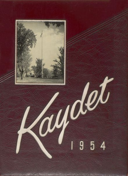1954 Saint Thomas Academy Yearbook Cover