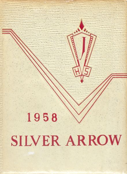 1958 Jackson High School Yearbook Cover