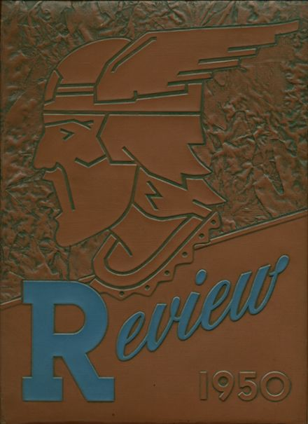 1950 Monsignor Coyle High School Yearbook Cover