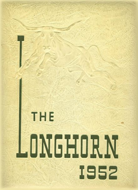1952 Duncan College Preparatory Yearbook Cover