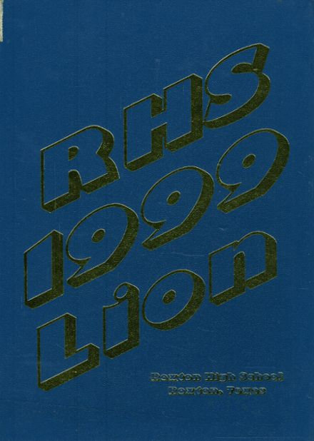 1999 Roxton High School Yearbook Cover