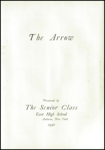 1950 East High School Yearbook Page 7