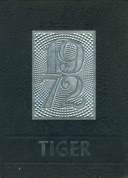 1972 Clearwater High School Yearbook Cover